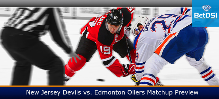 new product 66b54 4b573 New Jersey Devils vs. Edmonton Oilers Matchup Preview | BetDSI
