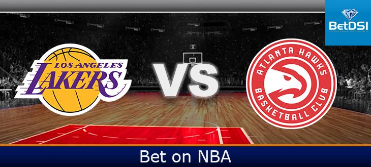 Atlanta Hawks At Los Angeles Lakers Betting Odds Betdsi