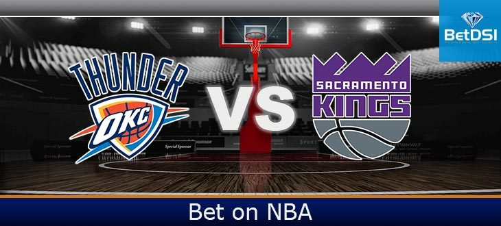 Oklahoma City Thunder at Sacramento Kings Betting Odds