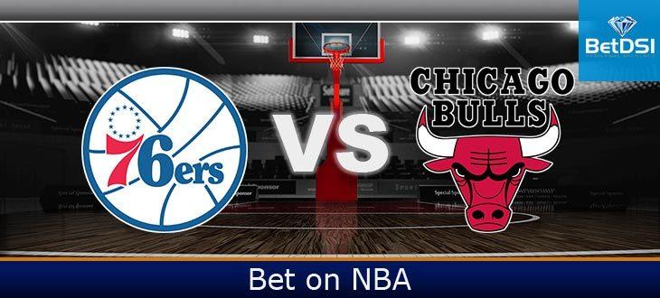 Philadelphia 76ers at Chicago Bulls Betting Odds