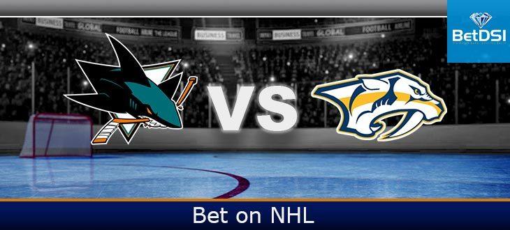 San Jose Sharks at Nashville Predators Free Prediction