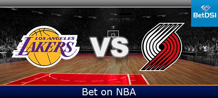 Portland Trail Blazers At Los Angeles Lakers Betting Odds Betdsi