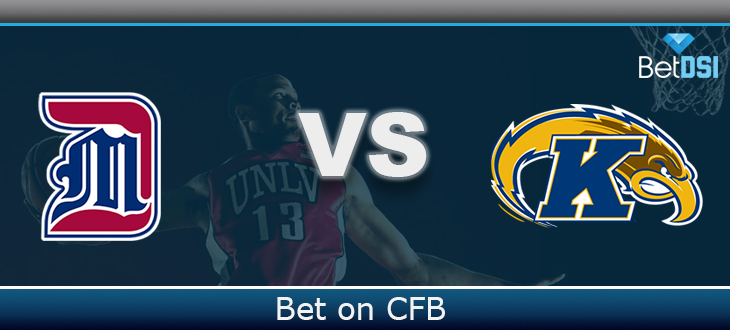 cheap for discount 8a063 8fb4e Kent State Golden Flashes at Detroit Titans Betting ...