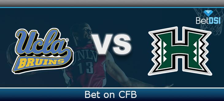 watch 8c80c a02a1 Hawaii Rainbow Warriors vs. UCLA Bruins Free Prediction | BetDSI