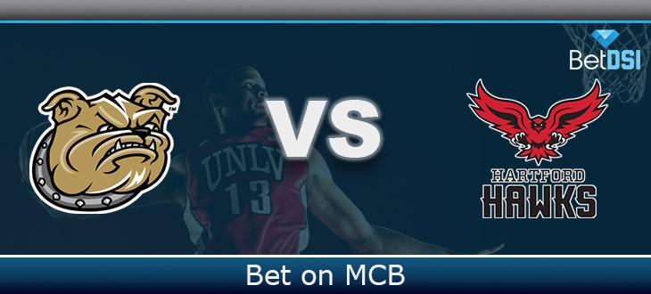 best service df9ea be913 Hartford Hawks vs. Bryant Bulldogs Free Prediction | BetDSI