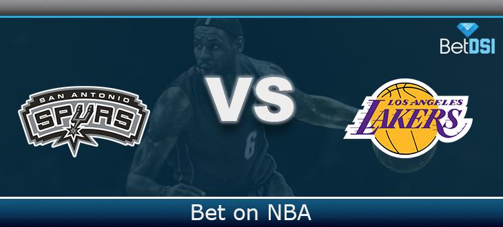 Los Angeles Lakers Vs San Antonio Spurs Betting