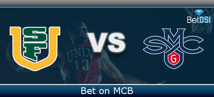 buy popular b7469 eb393 Saint Mary's Gaels vs. San Francisco Dons Betting Prediction ...