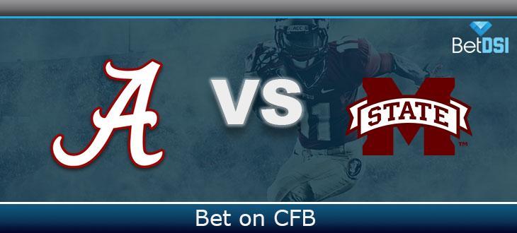 College Football Free Pick Alabama Crimson Tide Vs Mississippi State Bulldogs Betdsi